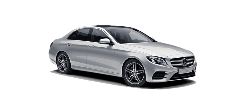 2018 Mercedes-Benz E 300 white background