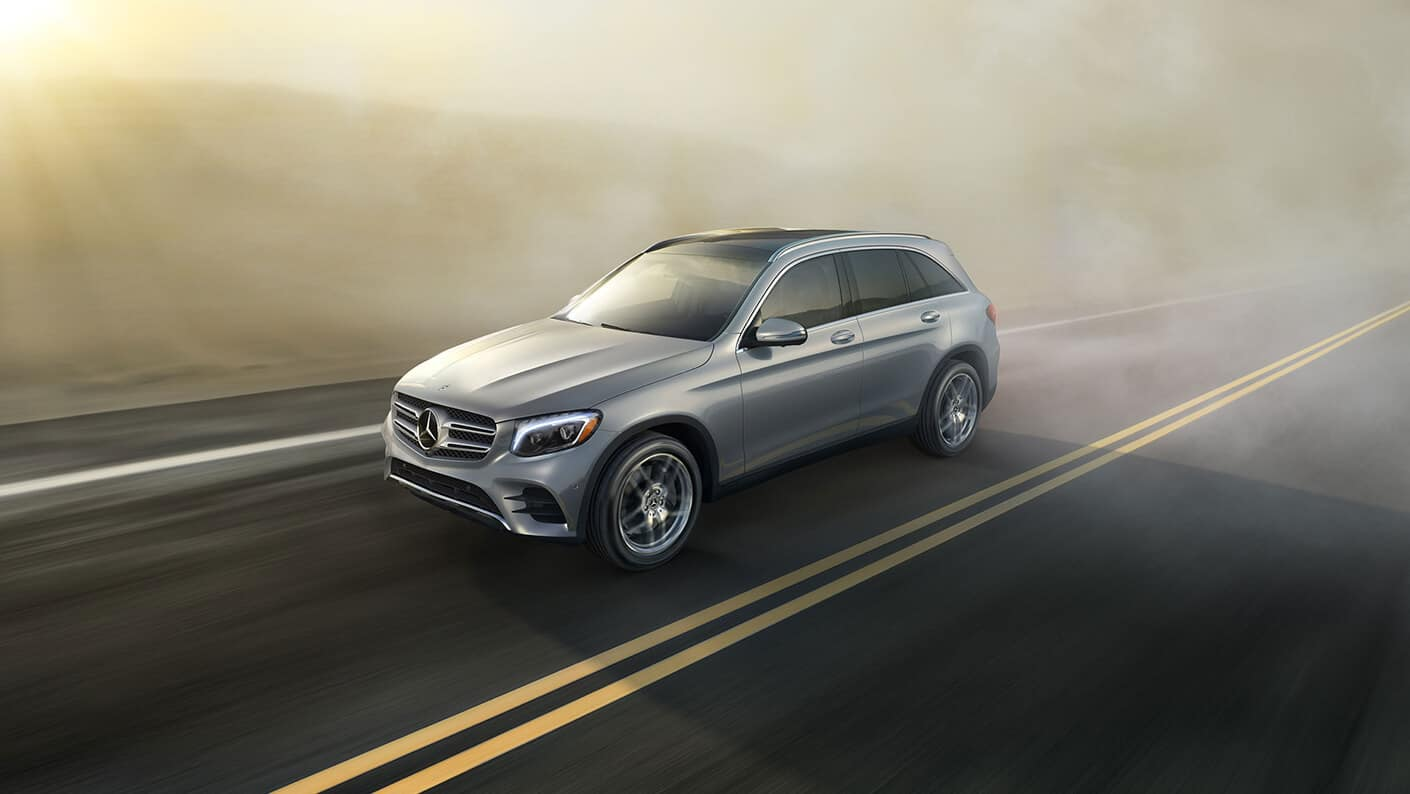 2018 Mercedes-Benz GLC 300 Exterior View