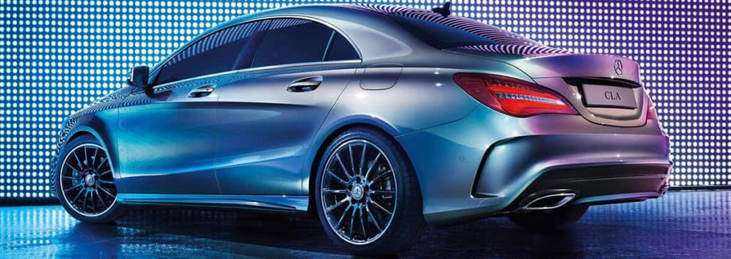 2017 Mercedes-Benz CLA 250 rear view