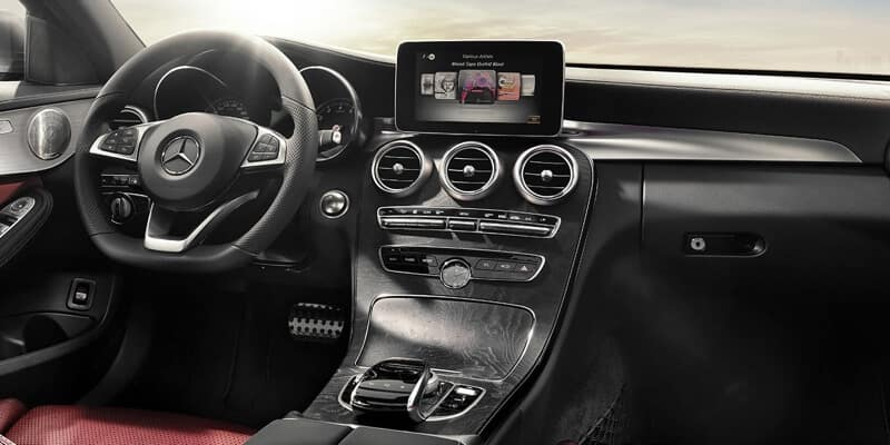 2018 Mercedes-Benz C-Class Interior features