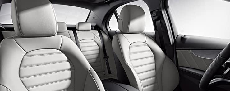 C-Class sedan interior