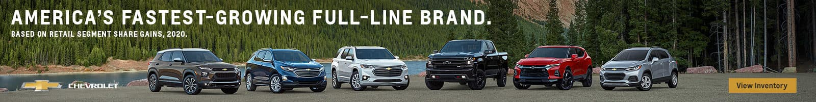 Fastest Growing Brand, Chevrolet