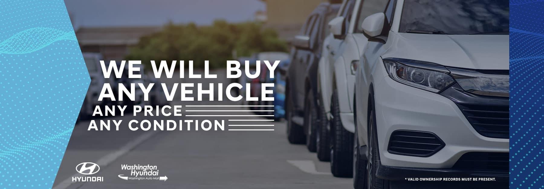 buying any vehicle